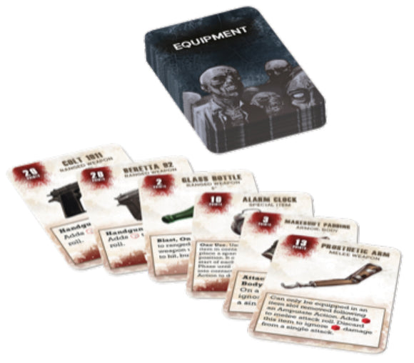The Walking Dead: All Out War - Equipment Booster Card Deck