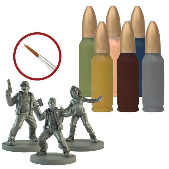 The Walking Dead: All Out War - Survivor Paint Set
