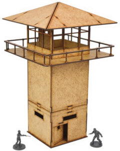 The Walking Dead: All Out War - Prison Tower MDF Kit