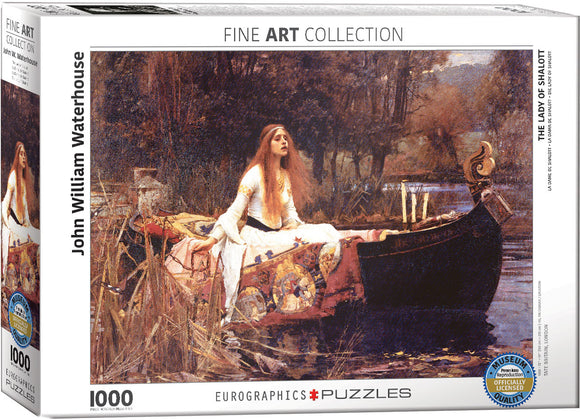 Puzzle: Fine Art Masterpieces - The Lady of Shalott by John William Waterhouse
