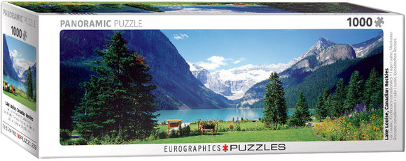 Puzzle: Panoramic Puzzles - Lake Louise Canadian Rockies