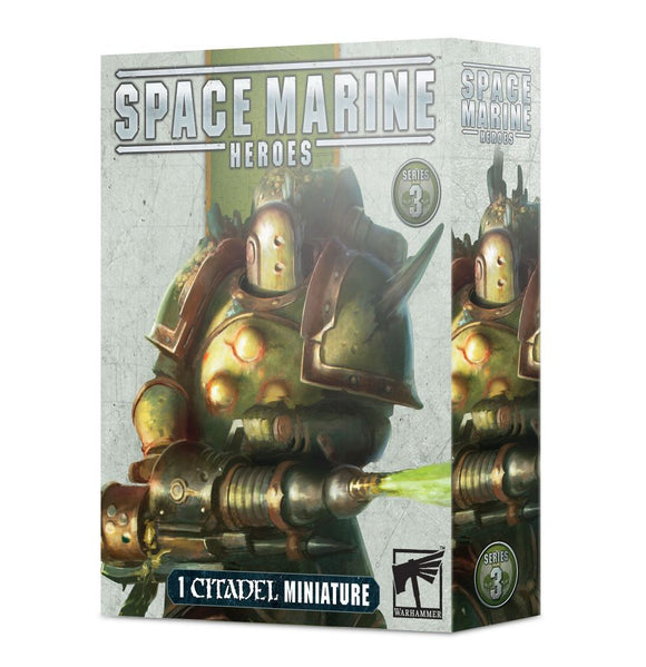 Warhammer 40K: Death Guard Space Marines Heroes Series 3 - The Complete Set