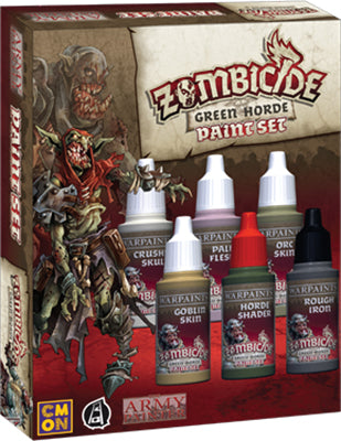 Army Painter Warpaints: Zombicide Green Horde Paint Set