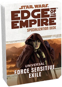 Star Wars: Edge of the Empire: Force Sensitive Exile Specialization Deck