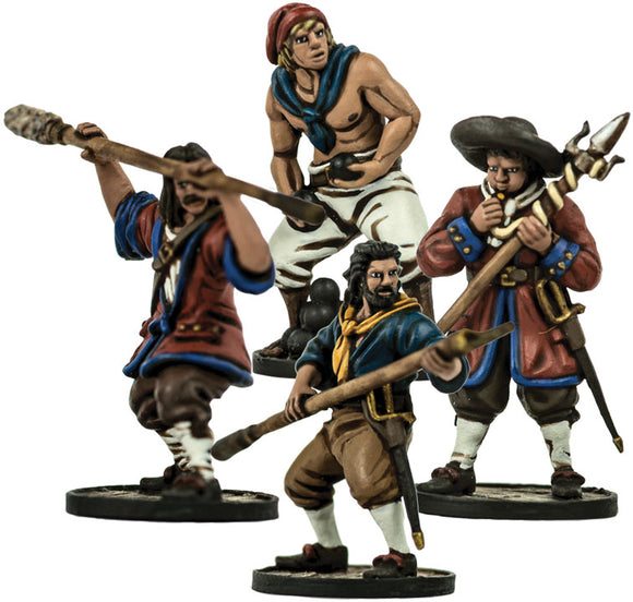 Blood & Plunder: European Cannon Crew