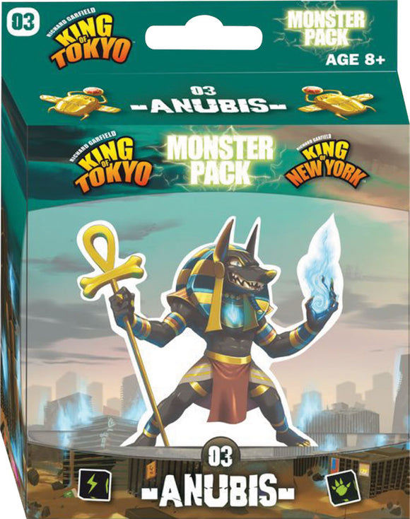 King of Tokyo: Anubis Monster Pack