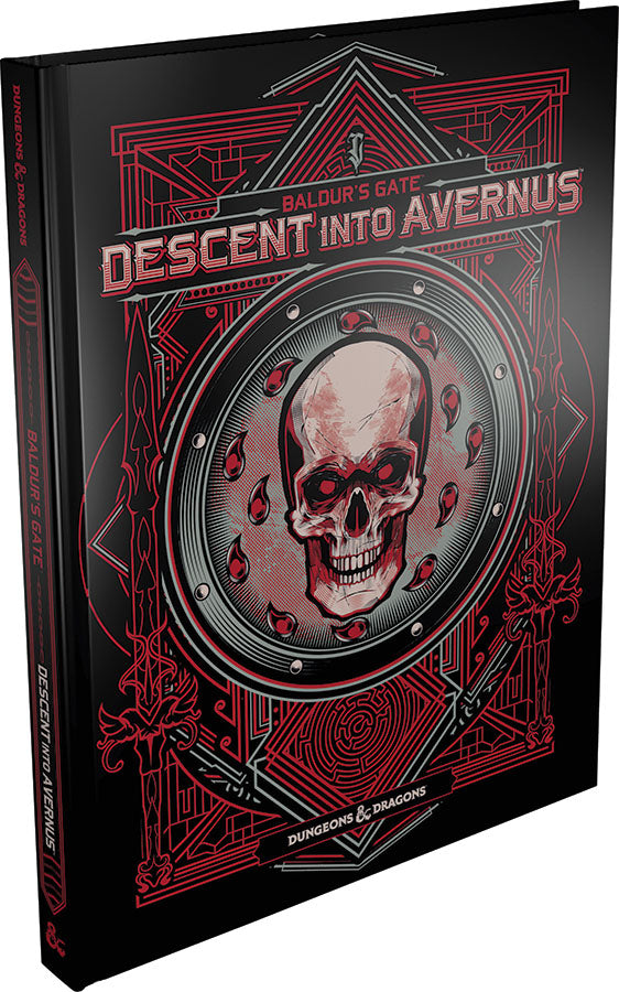 D&D: Baldur's Gate - Descent into Avernus Alternate Cover