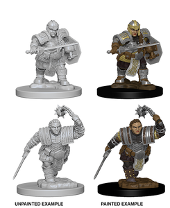 D&D: Nolzur's Marvelous Miniatures - Dwarf Female Fighter