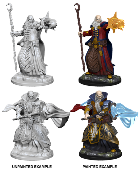 D&D: Nolzur's Marvelous Miniatures - Human Male Wizard