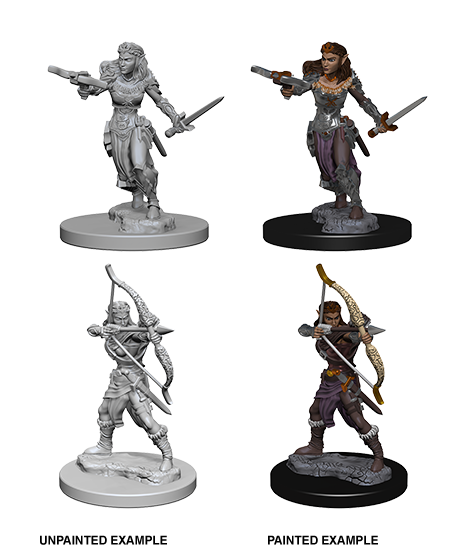 D&D: Nolzur's Marvelous Miniatures - Elf Female Ranger