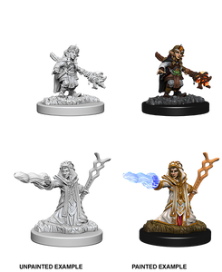 D&D: Nolzur's Marvelous Miniatures - Gnome Female Wizard
