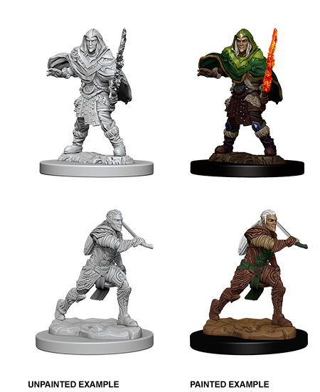 D&D: Nolzur's Marvelous Miniatures - Elf Male Fighter