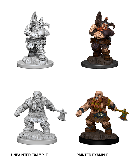 D&D: Nolzur's Marvelous Miniatures - Dwarf Male Barbarian