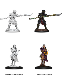 D&D: Nolzur's Marvelous Miniatures - Yuan-Ti Pureblood Adventurers