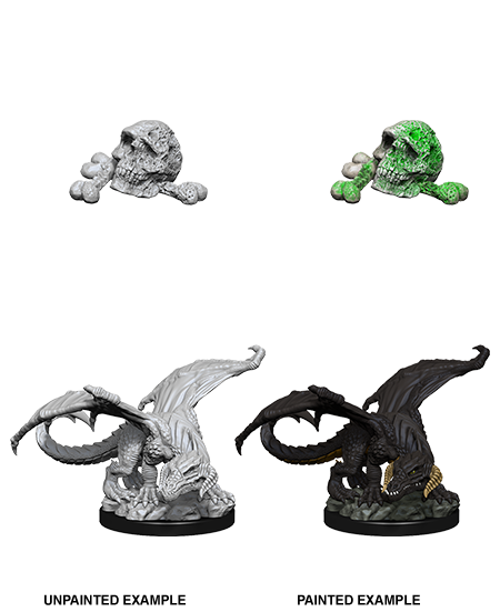 D&D: Nolzur's Marvelous Miniatures - Black Dragon Wyrmling