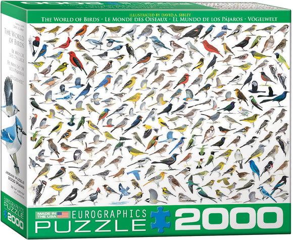 Puzzle: The BIG Puzzle Collection - The World of Birds