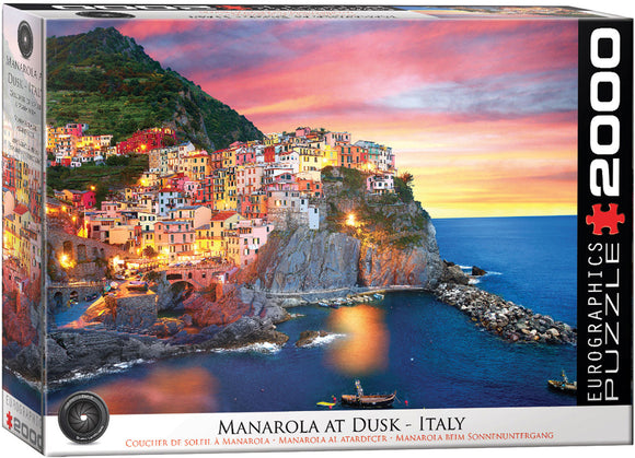 Puzzle: The BIG Puzzle Collection - Manarola at Dusk, Italy