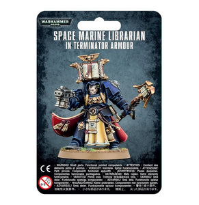 Warhammer 40K: Space Marine Librarian in Terminator Armour