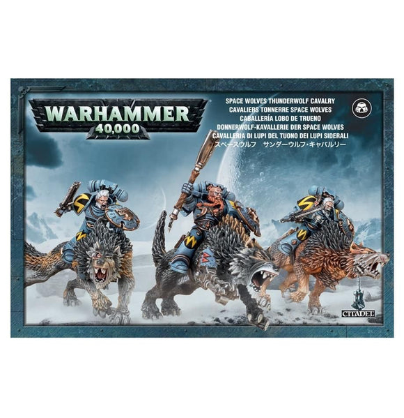 Warhammer 40K: Space Woves Thunderwolf Cavalry