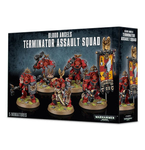Warhammer 40K: Blood Angels Terminator Assault Squad