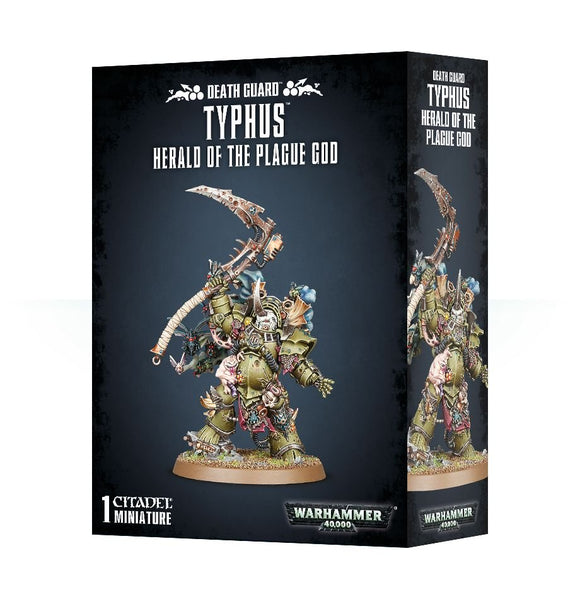 Warhammer 40K: Death Guard Typhus, Herald of the Plague God