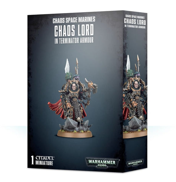 Warhammer 40K: Chaos Space Marines Chaos Lord in Terminator Armour