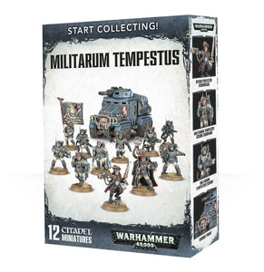 Warhammer 40K: Start Collecting! Militarum Tempestus
