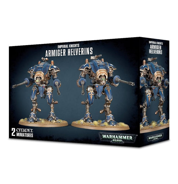 Warhammer 40K: Armiger Helverins/War Dogs with War Dog Autocannon