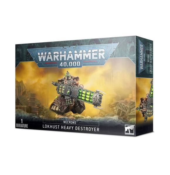 Warhammer 40K:  Necron Lokhusts Heavy Destroyer