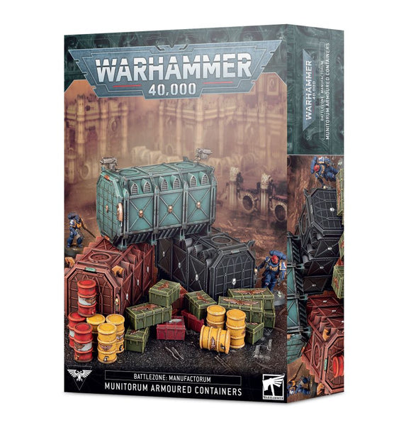 Warhammer 40K: Battlezone Manufactorum – Munitorum Armoured Containers