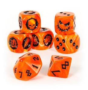 Blood Bowl: Necromantic Horror Team Dice Set