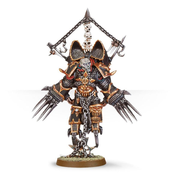 Warhammer 40K: Chaos Space Marines Chaos Lord with Jump Pack