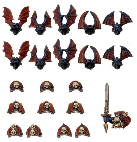 Warhammer 40K: Chaos Space Marines Night Lords Conversion Pack