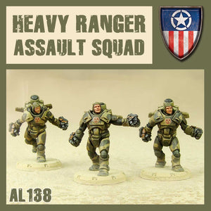 DUST 1947: Heavy Rangers Assault Squad