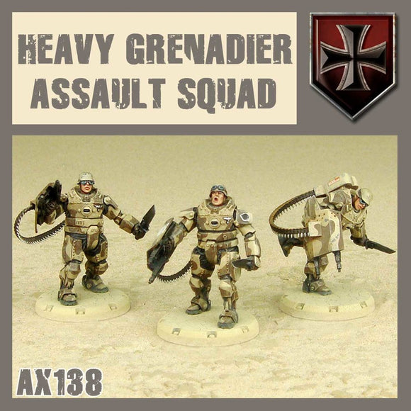 DUST 1947: Heavy Grenadier Assault Squad
