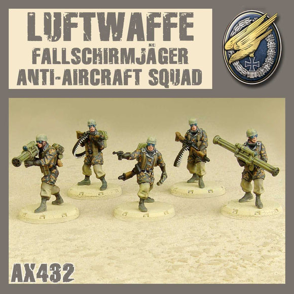 DUST 1947: Fallschirmjäger Anti Aircraft Squad