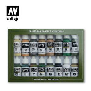 Model Color Set: 09 WWII Allied Forces