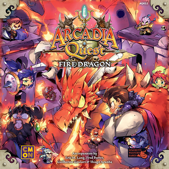 Arcadia Quest: Fire Dragon Expansion