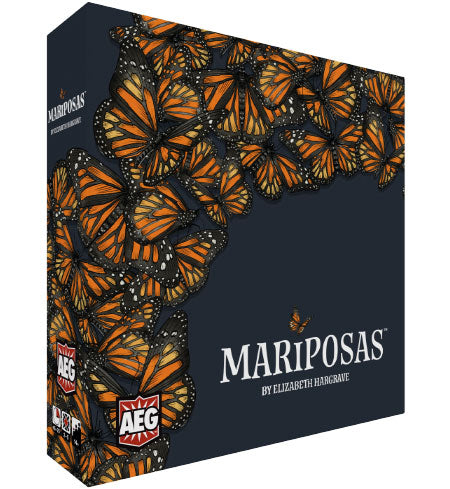 Mariposas board game by Elizabeth Hargrave