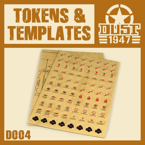 DUST 1947: Tokens (Punchboard)