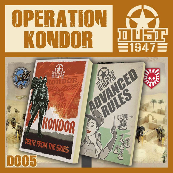 DUST 1947: Kondor Campaign Book