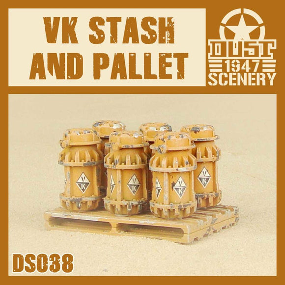 DUST 1947: VK Stash and Pallet