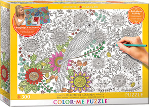 Puzzle: Color-Me Collection - Beautiful Garden