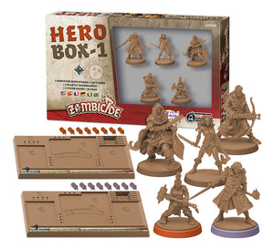 Zombicide Black Plague: Hero Box 1 Expansion