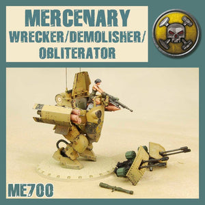 DUST 1947: Wrecker/Demolisher/Obliterator