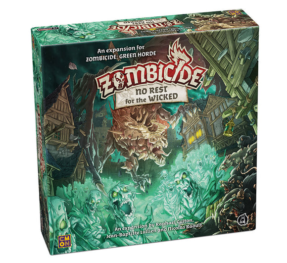 Zombicide Green Horde: No Rest for the Wicked Expansion