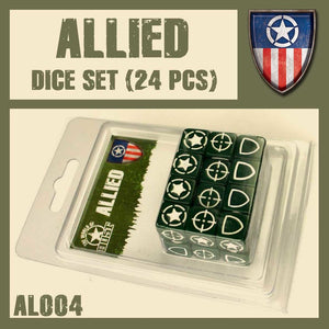DUST 1947: Allied Dice Set (24)
