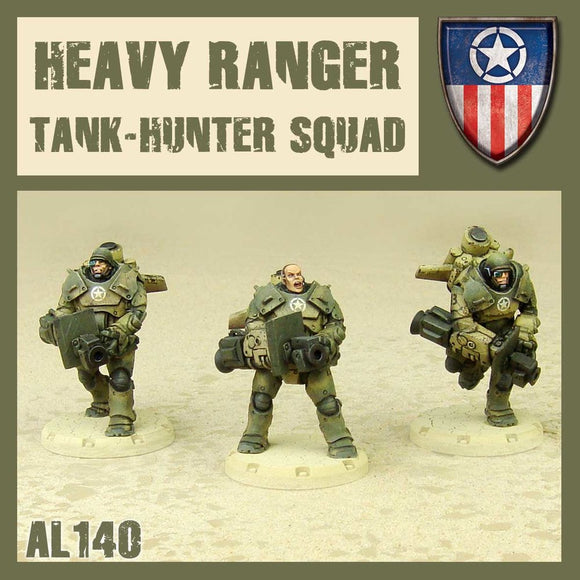 DUST 1947: Heavy Rangers Tank Hunter Squad