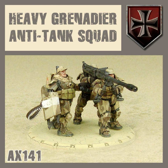 DUST 1947: Heavy Grenadier Anti-Tank Squad