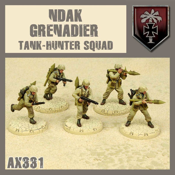 DUST 1947: NDAK Grenadier Tank Hunter Squad